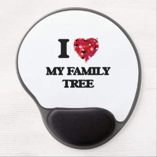 I Love My Family Tree Gel Mouse Pad