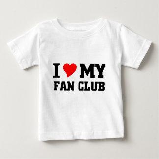 I love my Fan club Baby T-Shirt