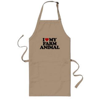 I LOVE MY FARM ANIMAL APRONS