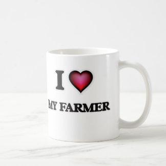 I Love My Farmer Coffee Mug