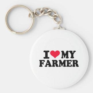 I love my Farmer Keychain