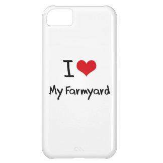 I Love My Farmyard Case For iPhone 5C