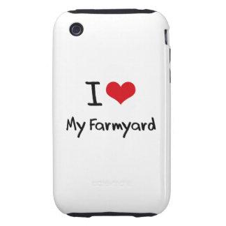 I Love My Farmyard Tough iPhone 3 Case