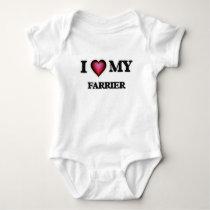I love my Farrier Baby Bodysuit