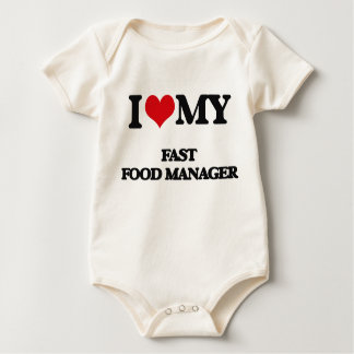 I love my Fast Food Manager Romper