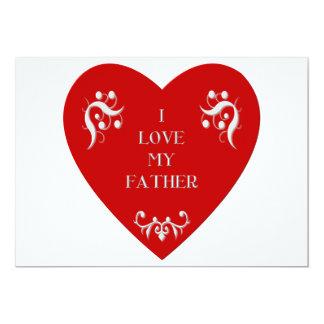 I love my father card