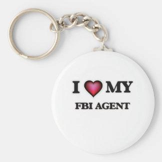 I love my Fbi Agent Keychain