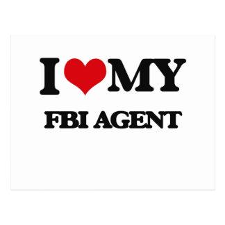 I love my Fbi Agent Postcards
