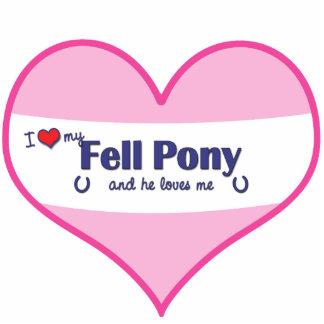 I Love My Fell Pony (Male Pony) Cutout