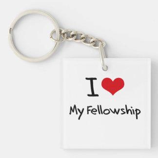I Love My Fellowship Keychain