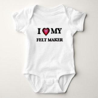 I love my Felt Maker Baby Bodysuit