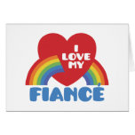 I Love My Fiance Cards