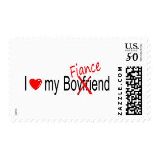 I Love My Fiance Postage