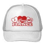 I Love My Fiance Trucker Hats