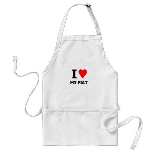 I love my fiat adult apron