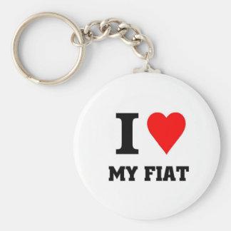 I love my fiat keychain