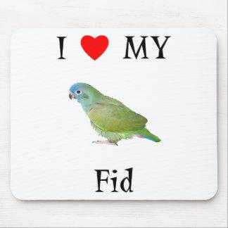 I Love My Fid Mouse Pad