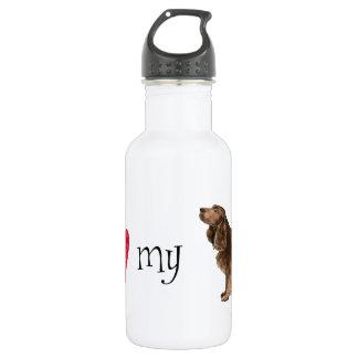 I Love my Field Spaniel Stainless Steel Water Bottle