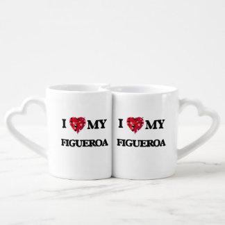 I Love MY Figueroa Coffee Mug Set