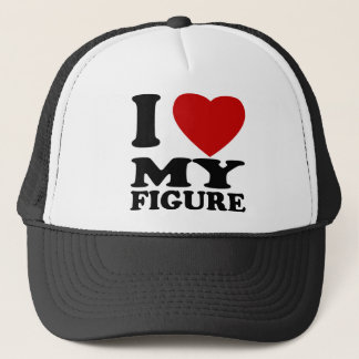 I Love My Figure Trucker Hat
