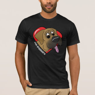 I Love my Fila Brasiliero Dark T-Shirt
