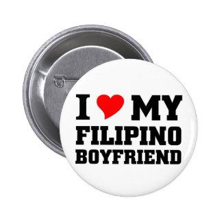 I love my Filipino Boyfriend Buttons