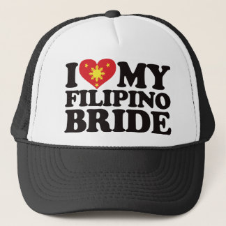 I Love My Filipino Bride Trucker Hat