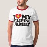 I Love My Filipino Family Shirt