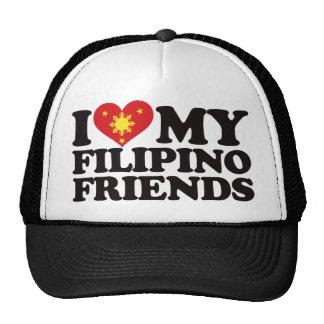 I Love My Filipino Friends Trucker Hat