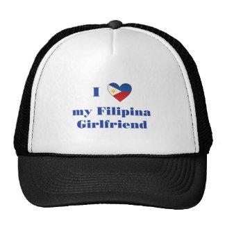 I Love My Filipino Girlfriend 1 Trucker Hat