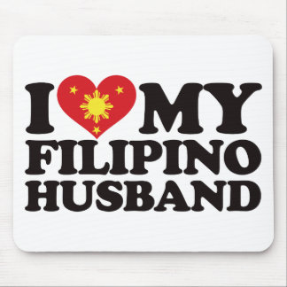 I Love My Filipino Husband Mouse Pad