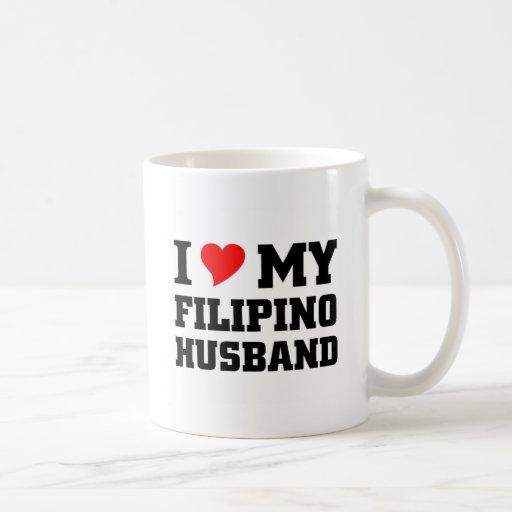I love my filipino Husband Mug