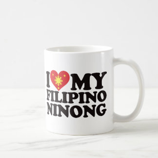 I Love My Filipino Ninong Coffee Mug