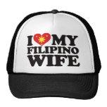 I Love My Filipino Wife Mesh Hat