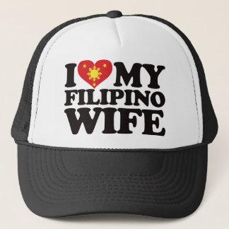 I Love My Filipino Wife Trucker Hat