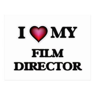 I love my Film Director Postcard
