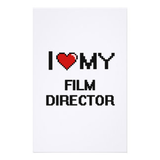 I love my Film Director Stationery