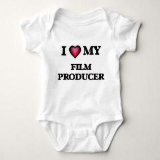 I love my Film Producer Baby Bodysuit