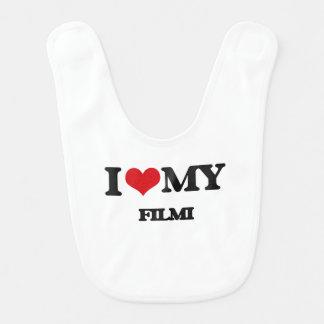 I Love My FILMI Baby Bib