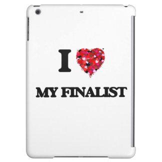 I Love My Finalist iPad Air Cover