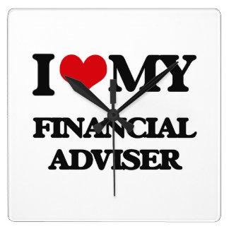 I love my Financial Adviser Clocks