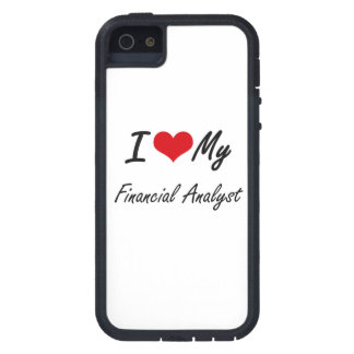 I love my Financial Analyst iPhone 5 Cases