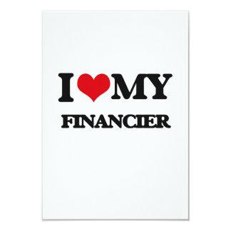 I love my Financier Custom Announcements
