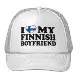I Love My Finnish Boyfriend Hats