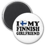 I Love My Finnish Girlfriend Fridge Magnet