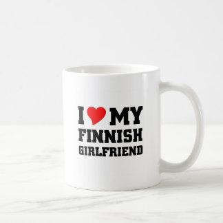 I love my finnish girlfriend classic white coffee mug