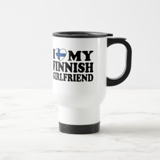 I Love My Finnish Girlfriend Mugs