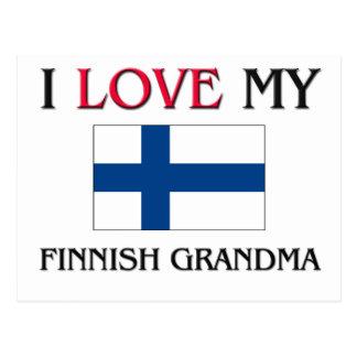 I Love My Finnish Grandma Post Card