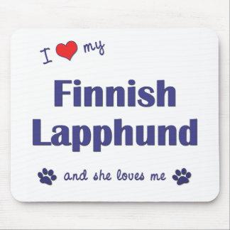 I Love My Finnish Lapphund (Female Dog) Mouse Pad