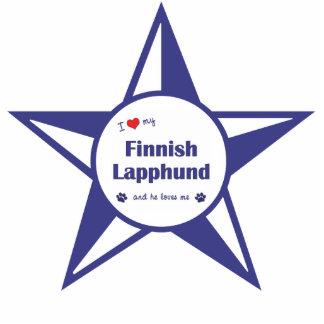 I Love My Finnish Lapphund (Male Dog) Photo Statuette